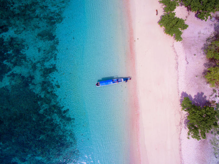 Pink Beach might be the most famous beach in the Komodo National Park | Hello Flores
