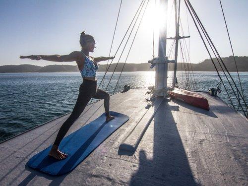 Yoga retreat Komodo Indonesia | Hello Flores