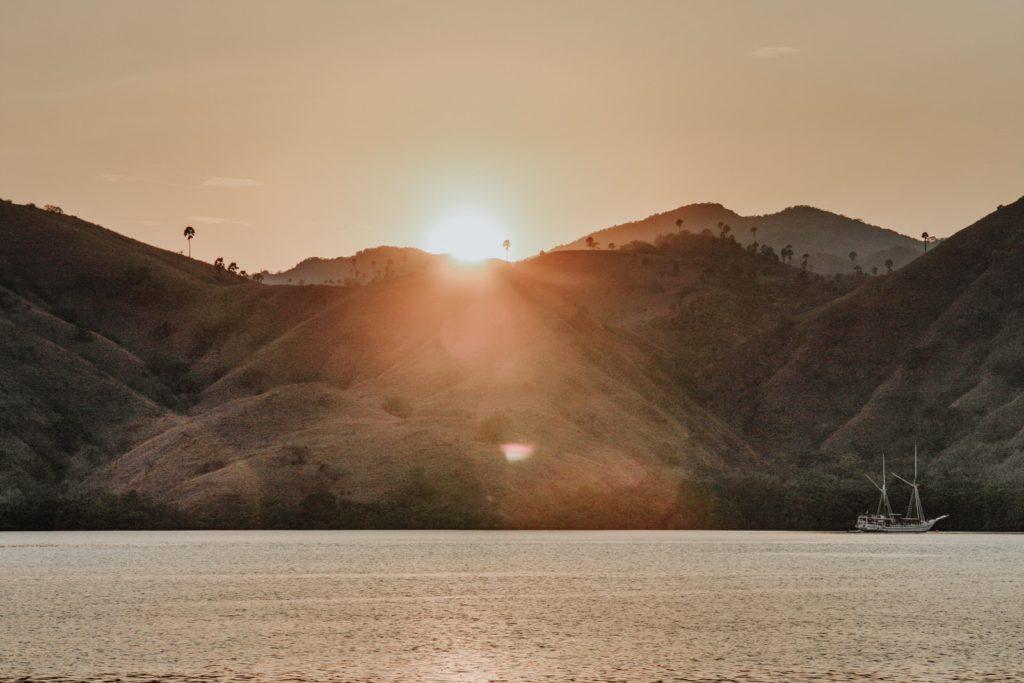 Enjoy the sunset | Komodo National Park | Hello Flores