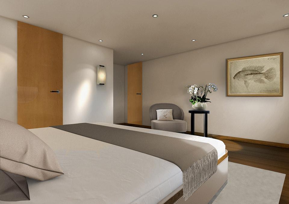 Aqua Blu Liveaboard Exclusive Bedroom | Hello Flores