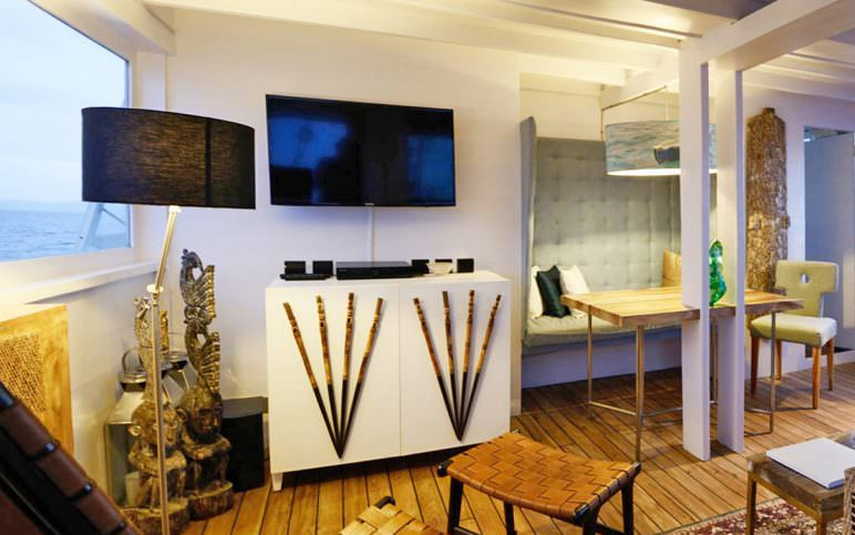 Alexa Liveaboard Full Furnished Interior | Hello Flores