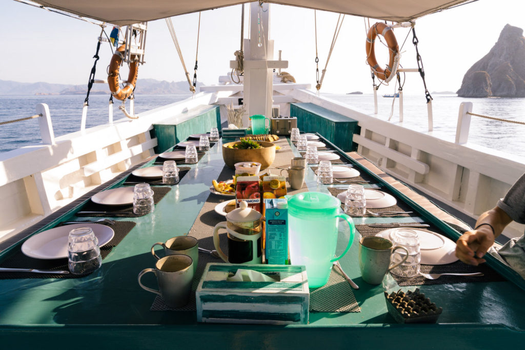 Royal Fortuna Liveaboard Feast Party | Hello Flores