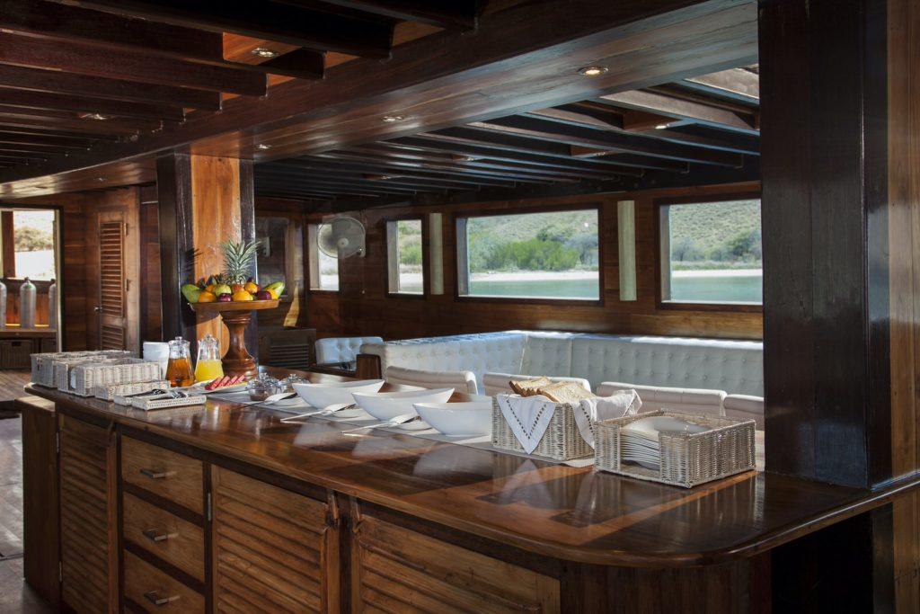 Samata Liveaboard Lounge Deck | Hello Flores