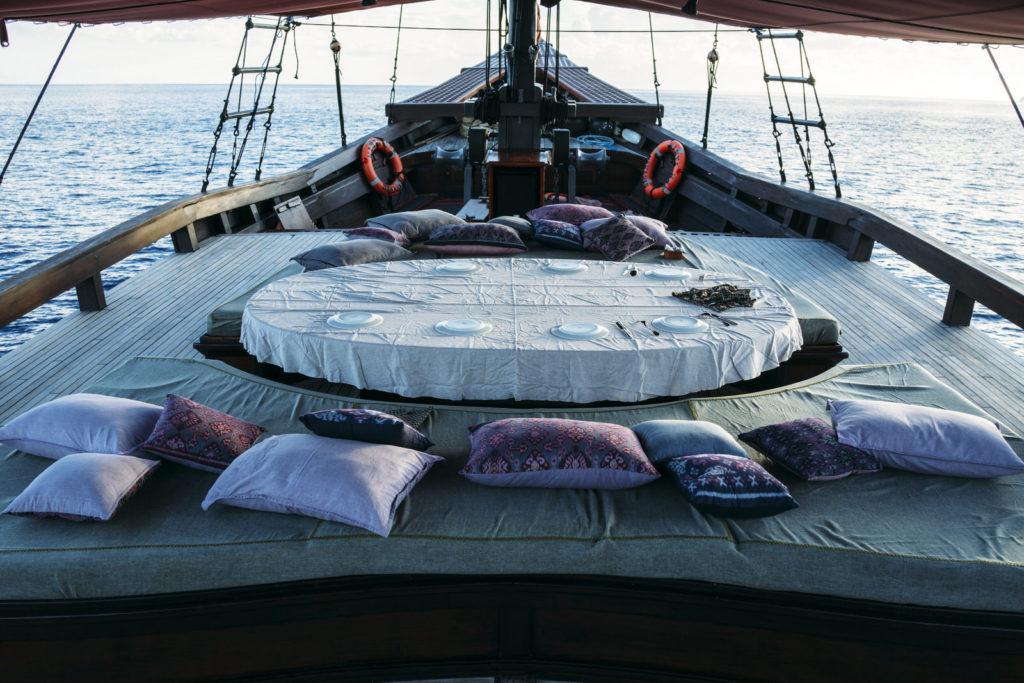 Mantra Mae Liveaboard Comfy Top Deck | Hello Flores