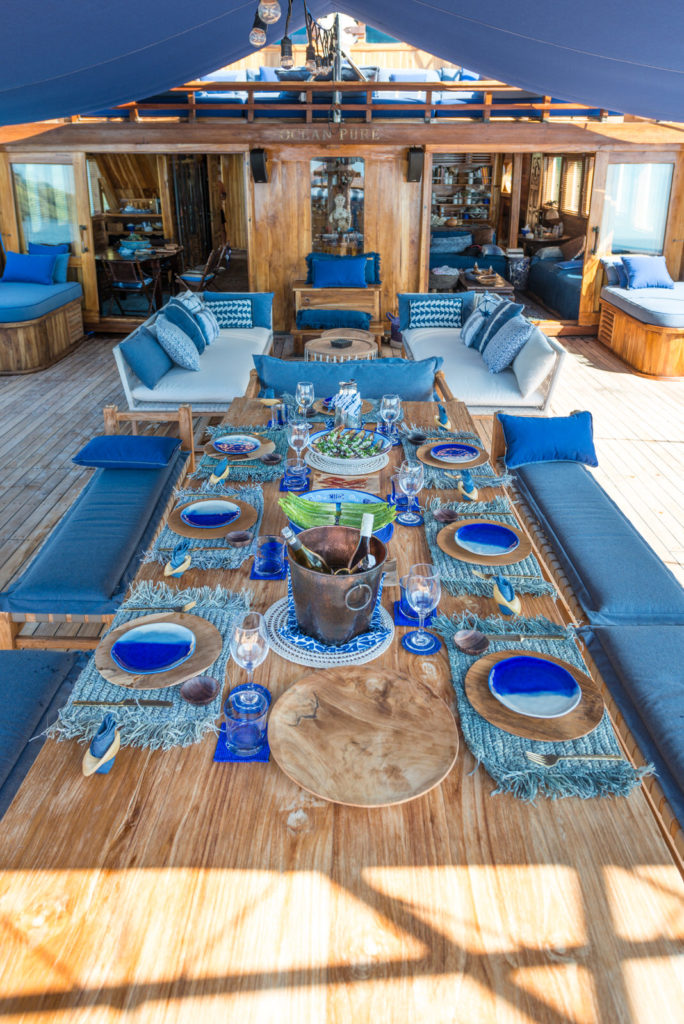 Ocean Pure Liveaboard Astonishing Feast Experience | Hello Flores