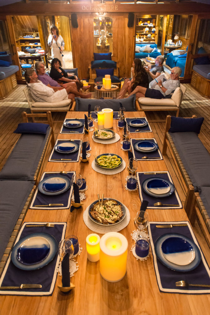 Ocean Pure Liveaboard Exclusive Dining Experience | Hello Flores