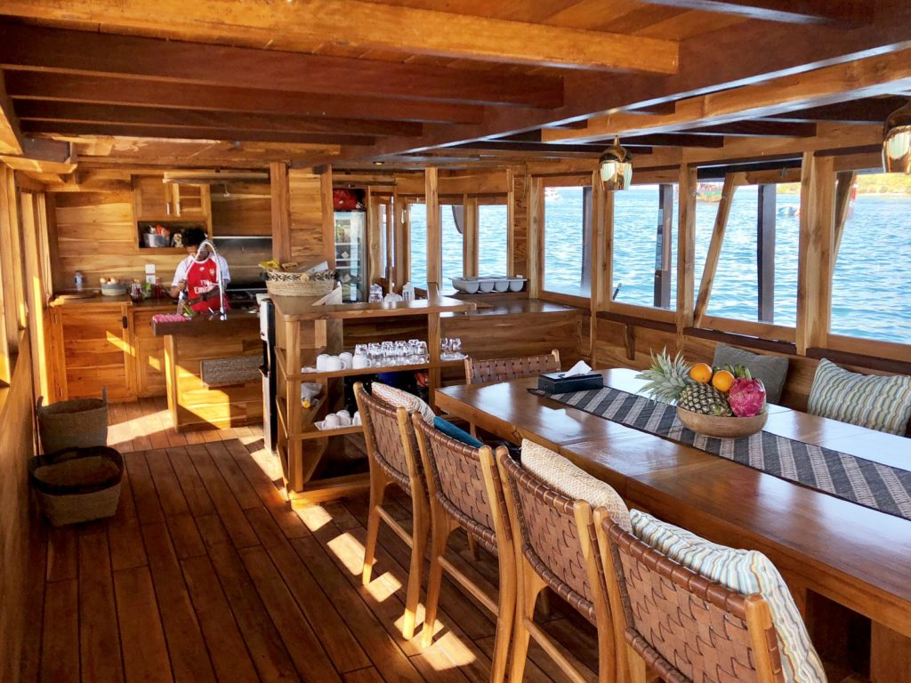 Samara Liveaboard Awesome Dining Experience | Hello Flores