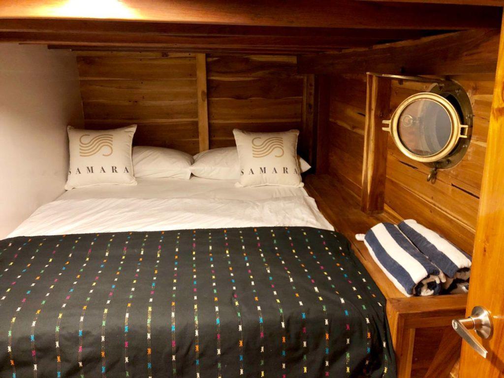 Samara Liveaboard Comfy Bed Cabin | Hello Flores