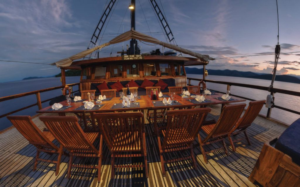 Damai Liveaboard Great Dinner Experience | Hello Flores