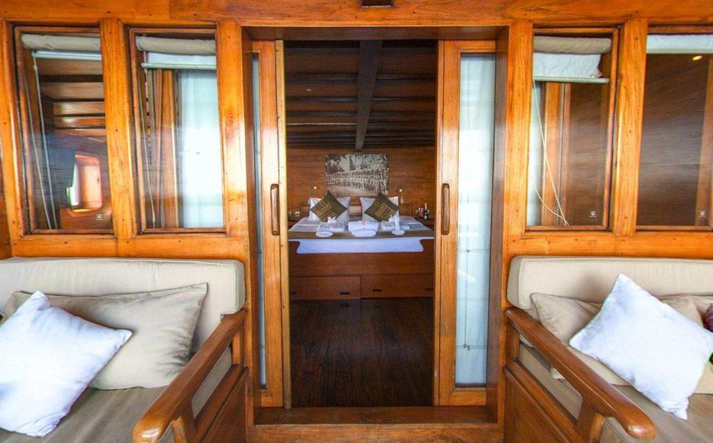 Damai Liveaboard Master Bed Cabin | Hello Flores