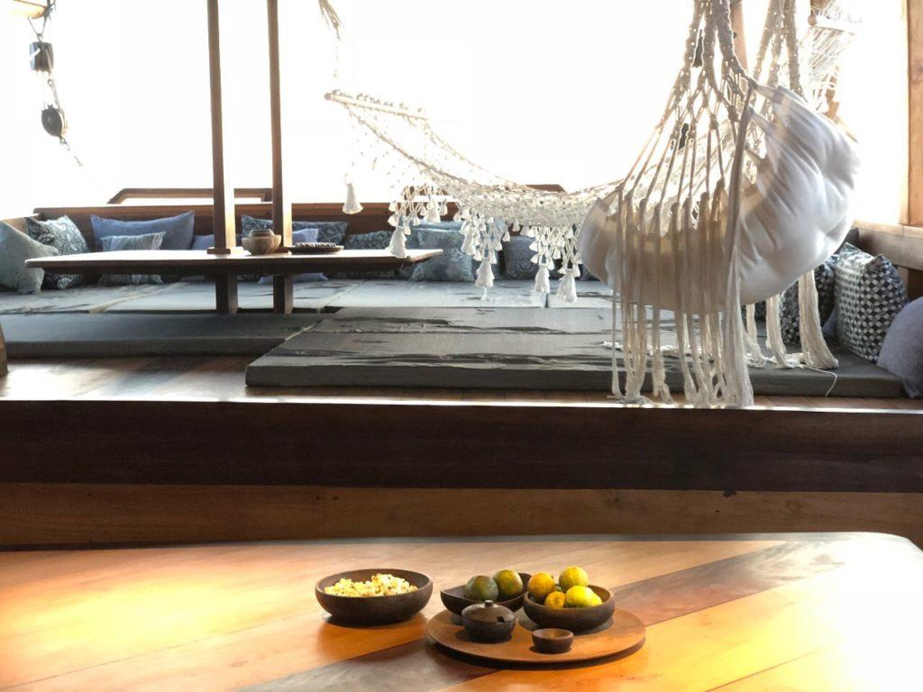 Nataraja Liveaboard Living Deck | Hello Flores