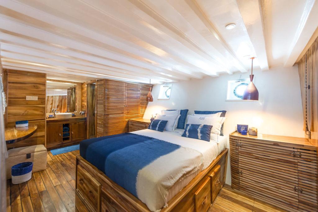 Ocean Pure Liveaboard Intimate Master Bedroom | Hello Flores
