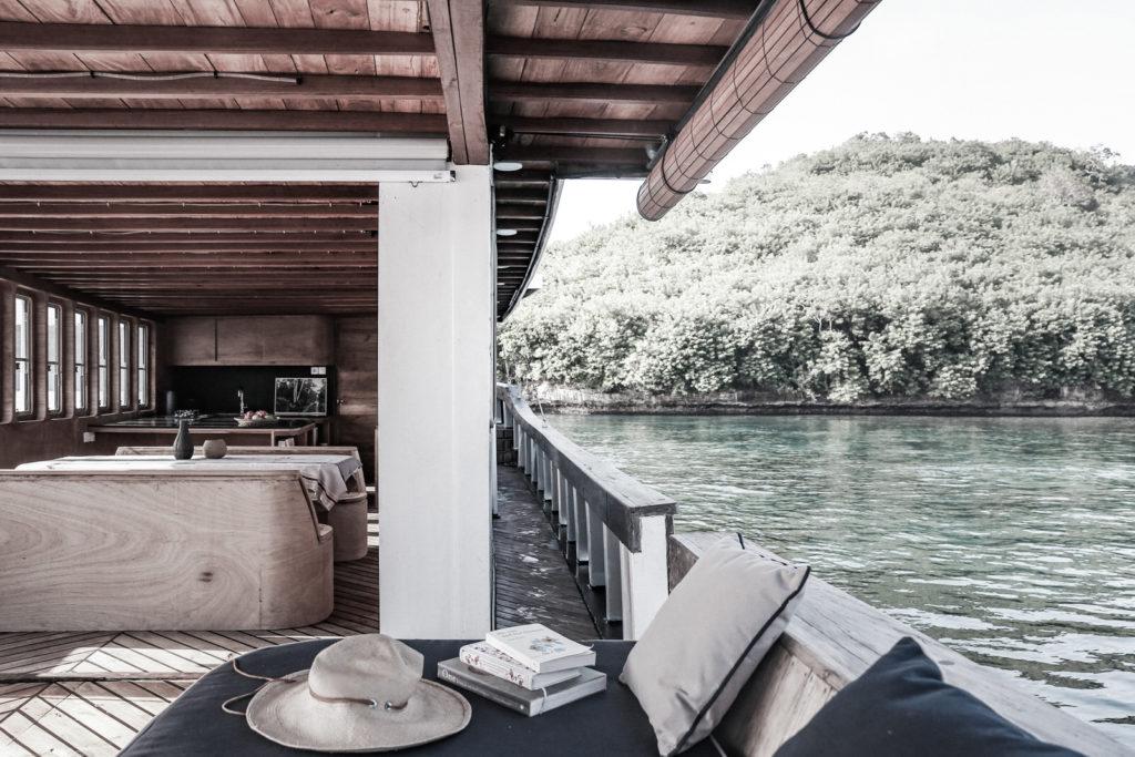 Splendour Liveaboard Outdoor Deck | Hello Flores