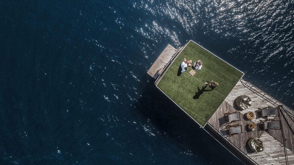Splendour Liveaboard Aerial View | Hello Flores