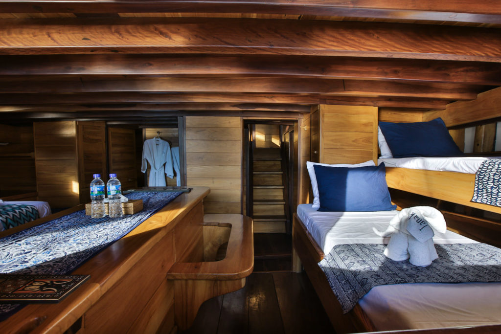 Tanaka Liveaboard Master Room Cabin | Hello Flores
