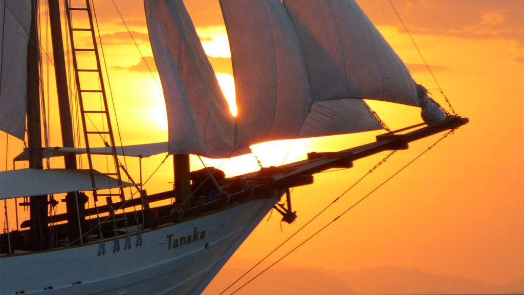 Tanaka Liveaboard Striking Through Sunset Beauty | Hello Flores