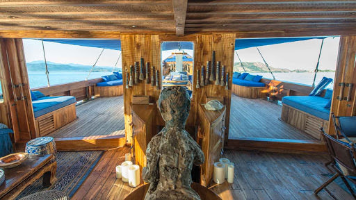 Ocean Pure Liveaboard Tropical Living Deck | Hello Flores