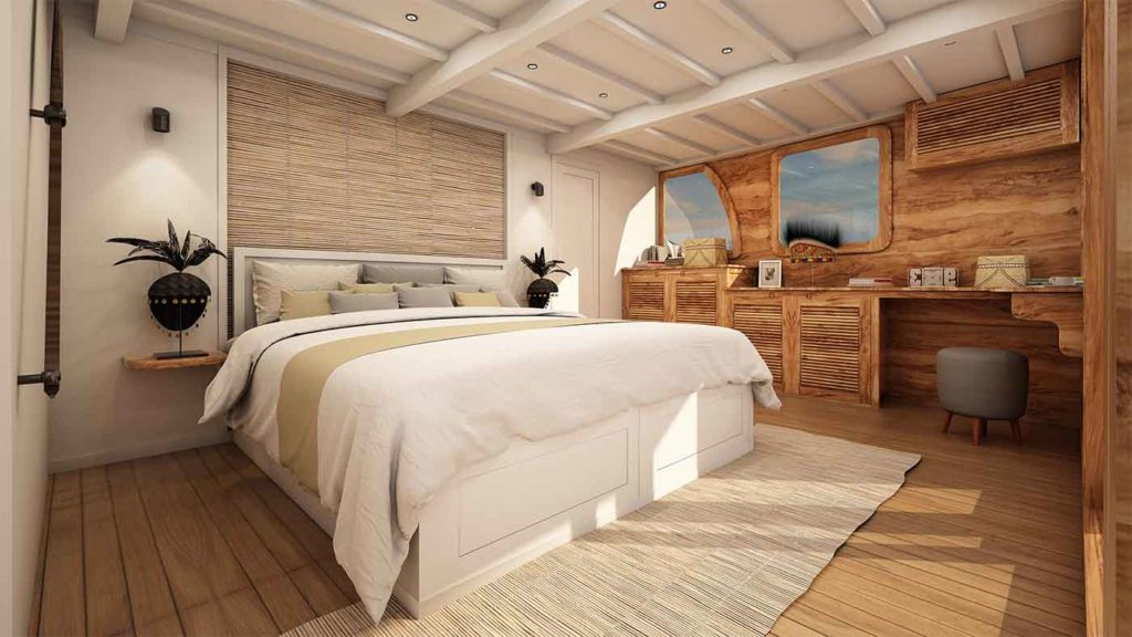 Aliikai Liveaboard Master Bed | Hello Flores