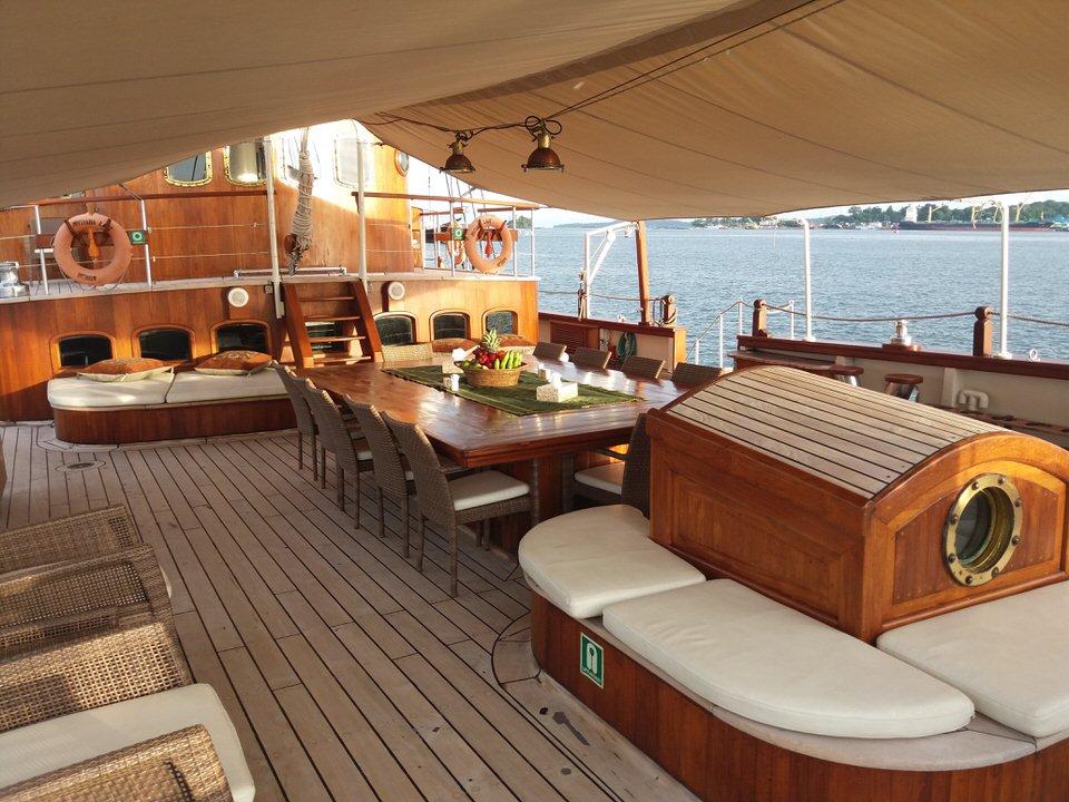 Mutiara Laut Liveaboard Front Deck | Hello Flores