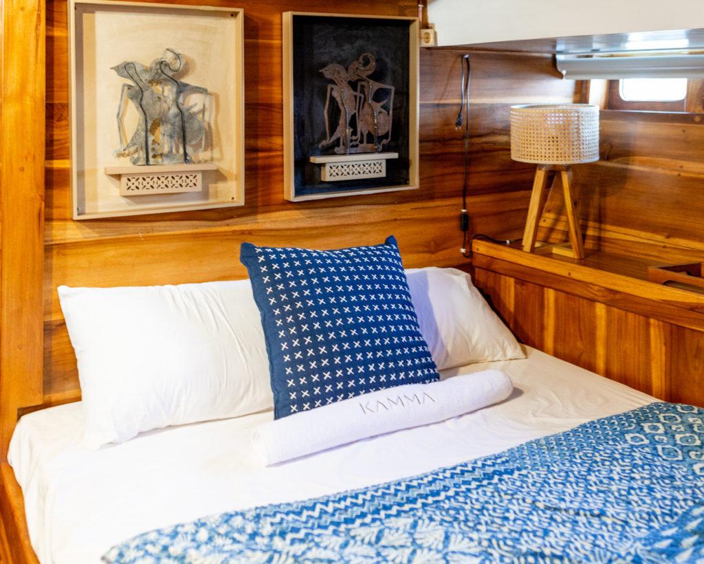 master bedroom ikan terbang liveaboard | Hello Flores