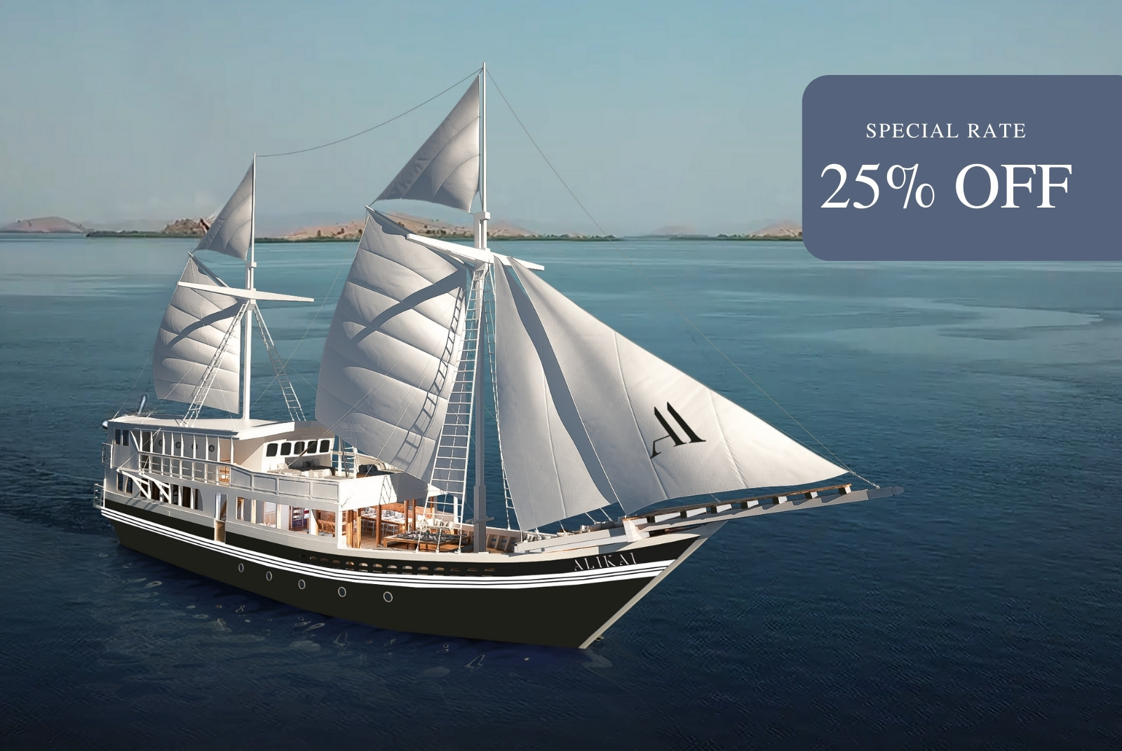 Aliikai Liveaboard | Special Rate 25% Off | Hello Flores