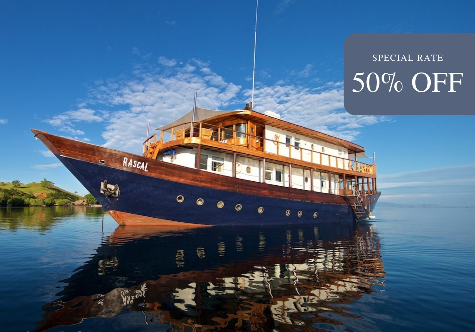 Rascal Liveaboard | Special Rate 50% | Hello Flores