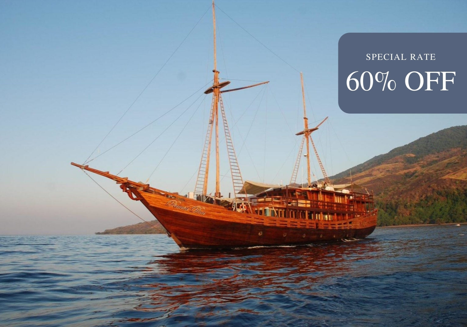 Damai II LIveaboard | Special Rate 60% Off | | Hello Flores
