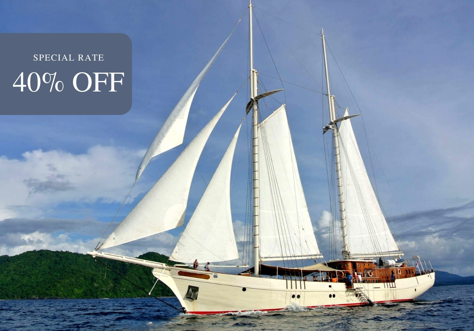 Mutiara laut liveaboard | Special Rate 40% off | Hello Flores